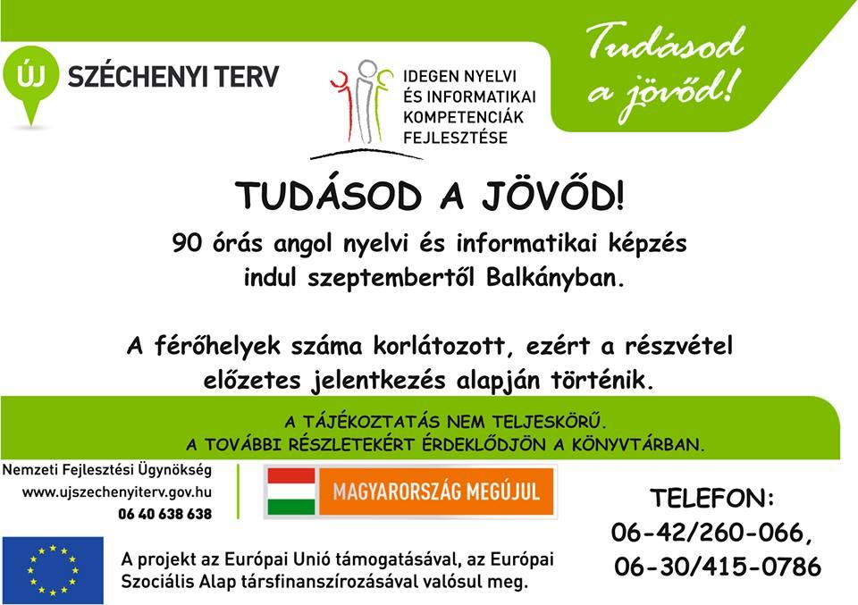 Angol nyelvi képzés indul Balkányban