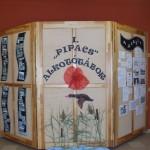 Pipacs alkotótábor felirata