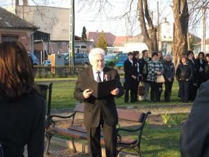 Március 15-i ünnepi beszédet mond az alpolgármester