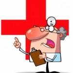 Rajzfigura orvos