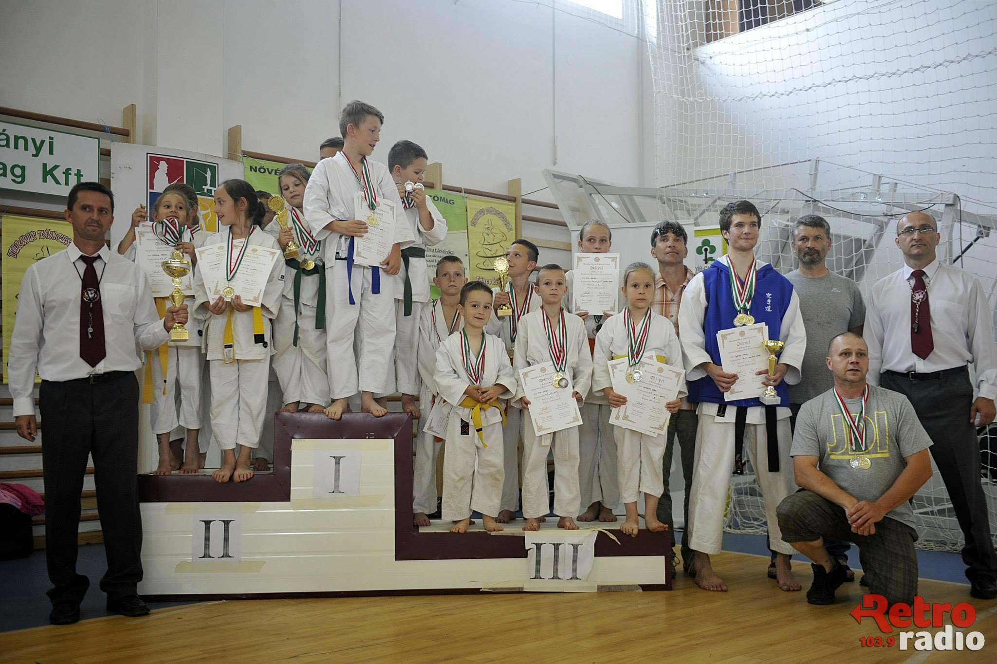 Meghívásos Nemzetközi Karateverseny 2015